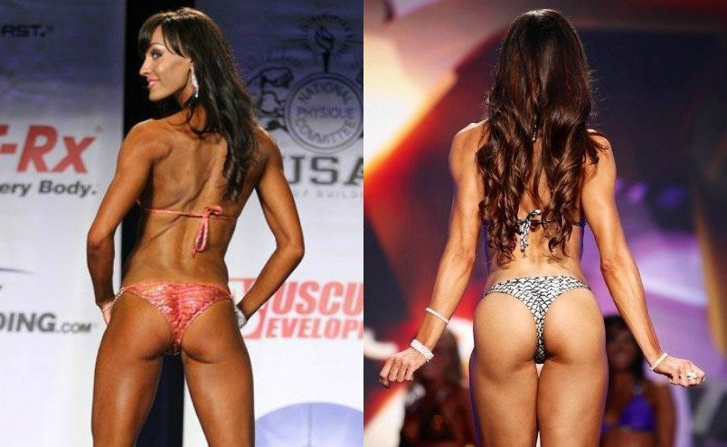 Bikini butt contests