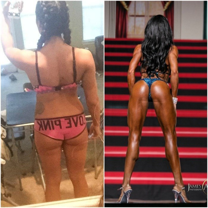 next level bikini prep transformation melanie